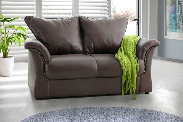 Jessie 2-seater couch - Brown offers at R 2999,99