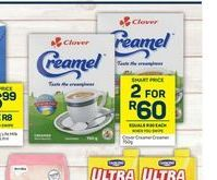 CLover Creamel 2 offers at R 60