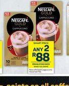 Nescafé Gold Cappuccino 2 offers at R 88