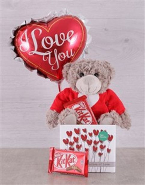 Love Teddy and Kit Kat Box offers at R 260