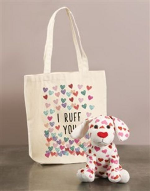Puppy Ruff And Tote Bag offers at R 507