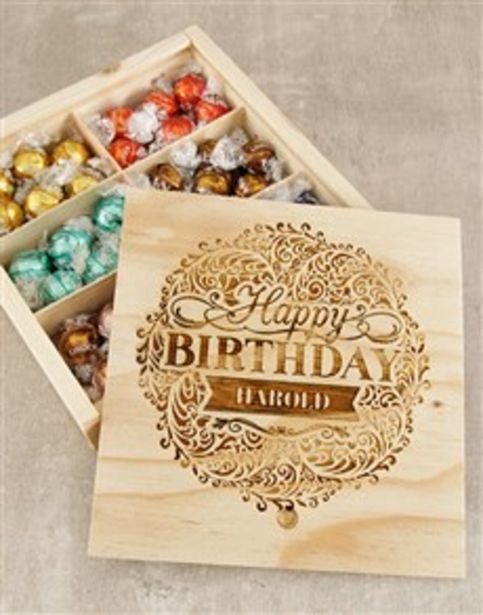 Personalised Birthday Bliss Lindt Box offers at R 650