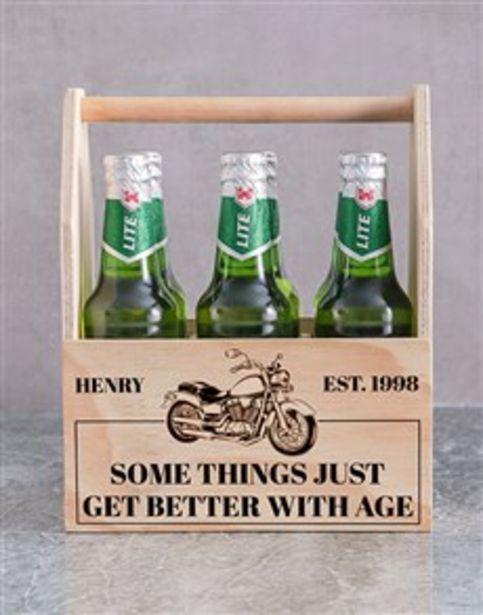 Personalised Harley Printed Beer Crate offers at R 520