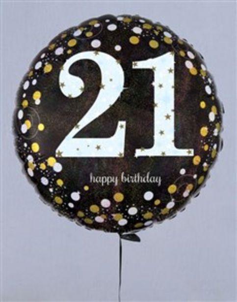 Terrific Twenty First Birthday Balloon offers at R 169