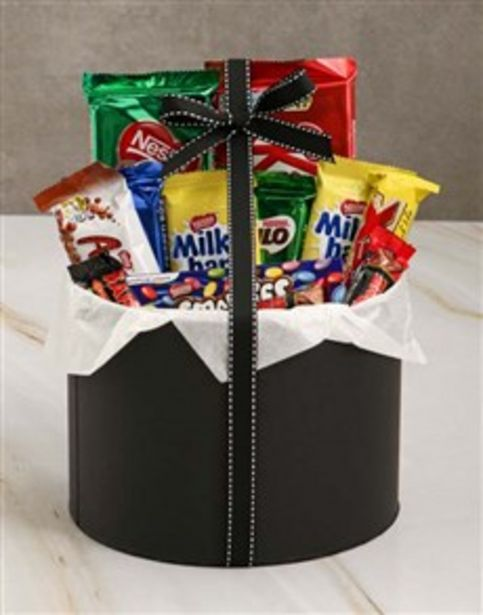 Large Chocolate Filled Hatbox offers at R 455