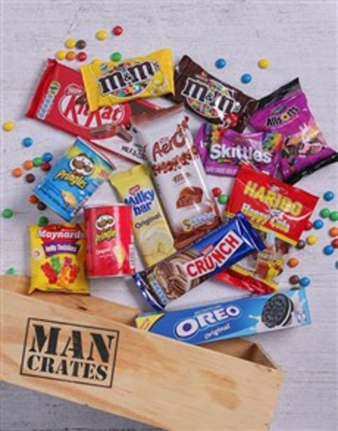 Sweet Assortments Man Crate offers at R 611