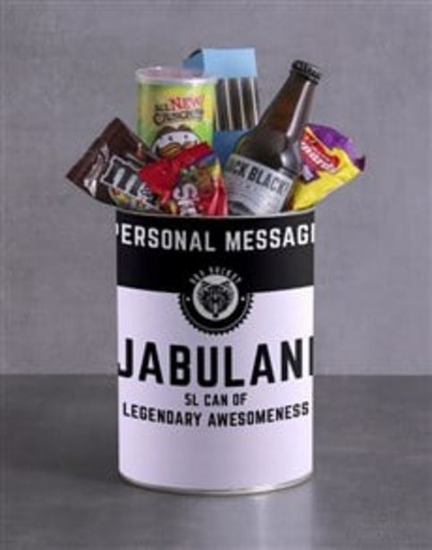 Personalised Legendary Bro Bucket offers at R 429