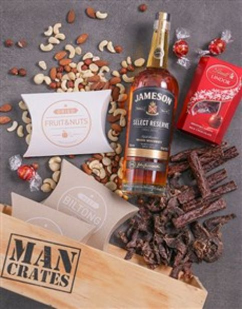 Lindt Select Man Crate offers at R 1586
