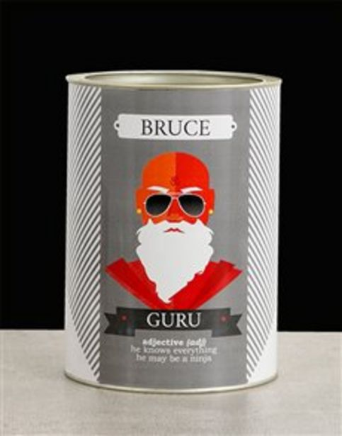 Personalised Guru Bro Bucket offers at R 390