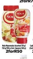 Nola Mayonnaise 2 offers at R 50