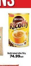 Nescafé Ricoffy  offers at R 74,99