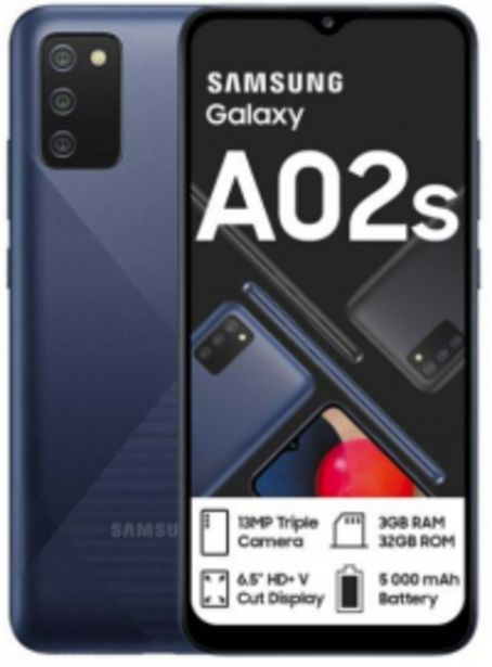 Samsung A-02s Dual offers at R 2199