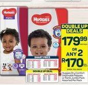 Huggies Disposable Nappies offers at R 179,99