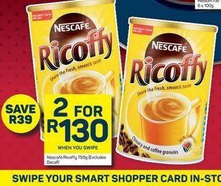 Nescafé Ricoffy  offers at R 130