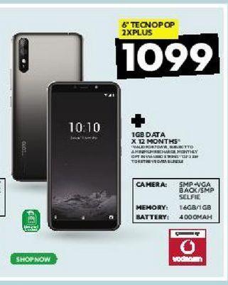 "6"" Tecnopop 2xplus offers at R 1099"
