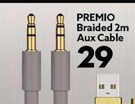 PREMIO Braidd 2m Aux cables offers at R 29