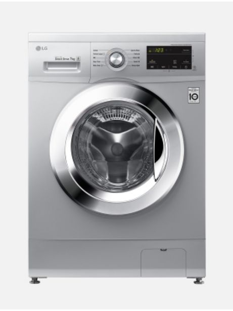 Lg 7kg Silver Front Loader Fh0j3hdnp5p offers at R 5999