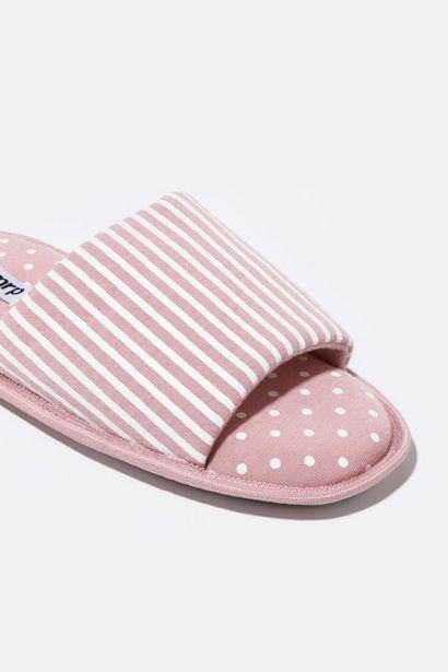 Stripe Comfort Slipper offers at R 59,99
