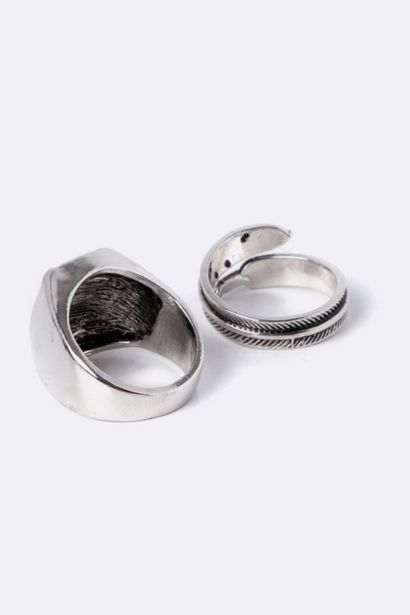 2 Pack Rings offers at R 39,99