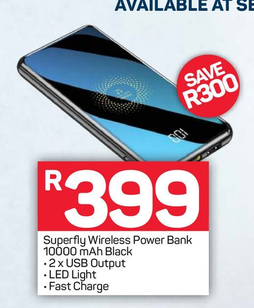 Superfly Power Bank offers at R 399