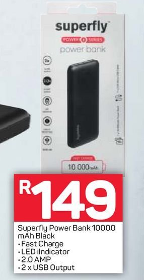 Superfly Power Bank offers at R 149