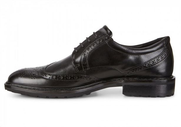 Ecco Vitrus 1 Black Oxford Men's Shoes offers at R 2999,99
