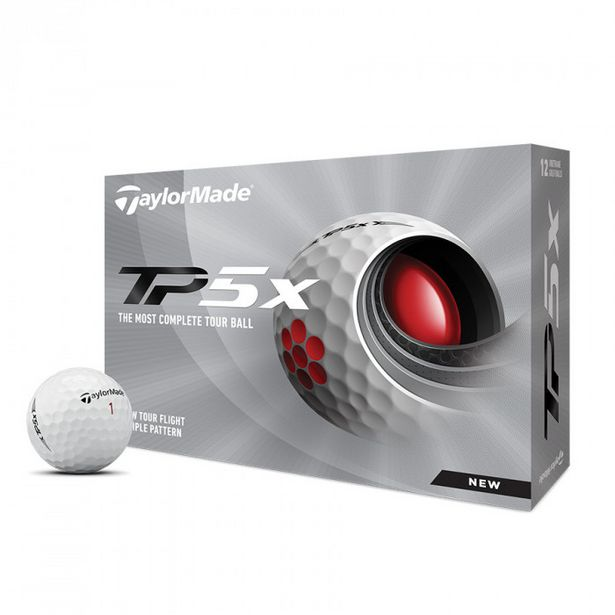 TaylorMade TP5X Men's Golf Ball offers at R 64,99