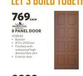 8 panel doors offers at R 769