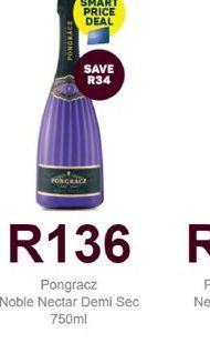 Pongracz Sparkling Wine offers at R 136