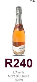 L'Avenir Brut Rose offers at R 240