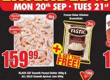 Chicken drumsticks  offers at R 159,99