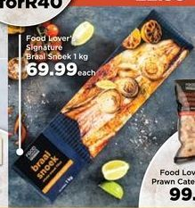 Food Lover's Snoek offers at R 69,99