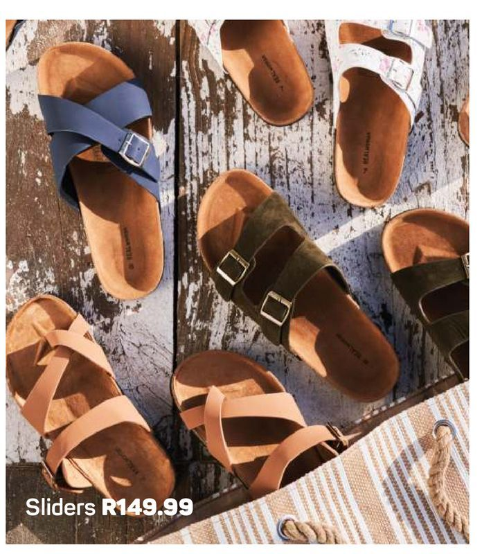 Sliders offers at R 149,99