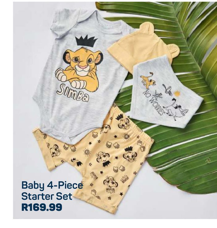 Baby Starter Set offers at R 169,99