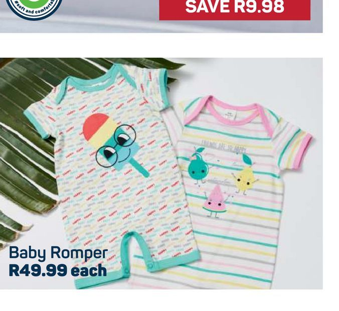 Baby Romper offers at R 49,99
