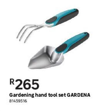 Gardening hand tool set GARDENA offers at R 265