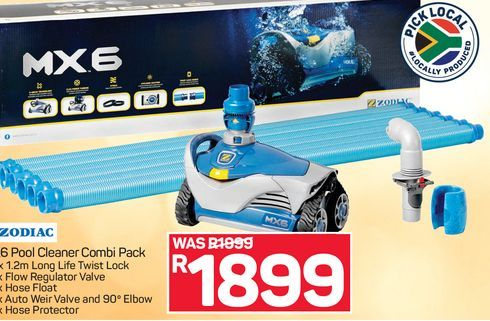 Zodiac pool cleaner offers at R 1899