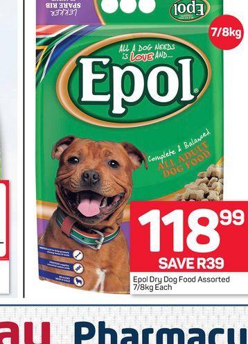 Epol Dog Food  offers at R 118,99