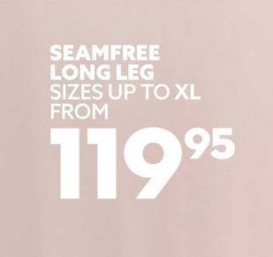 Seamfree long leg offers at R 119,95