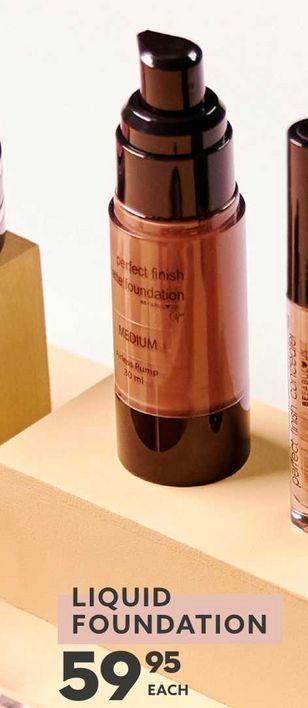 Liquid foundation offers at R 59,95