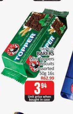 Bakers Biscuits  offers at R 3,94