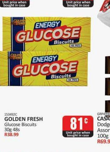Golden Fresh biscuits  offers at R 0,81