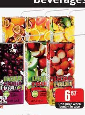 Liqui-Fruit Fruit Juice offers at R 6,67