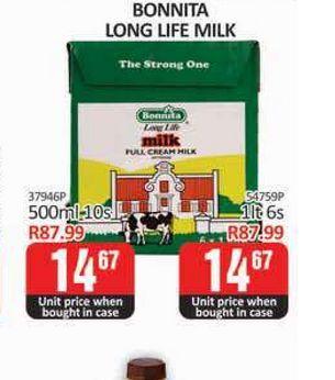 Bonnnita Milk offers at R 14,67