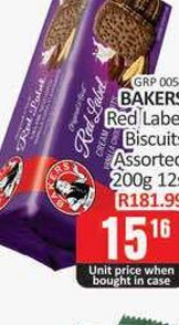 Bakers Biscuits  offers at R 15,16