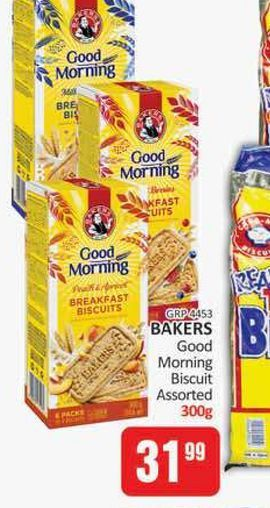 Bakers Biscuits  offers at R 31,99