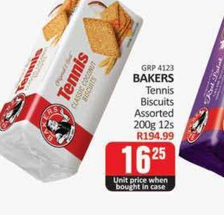 Bakers Tennis Biscuits  offers at R 16,25
