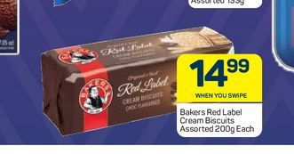 Bakers Biscuits  offers at R 14,99