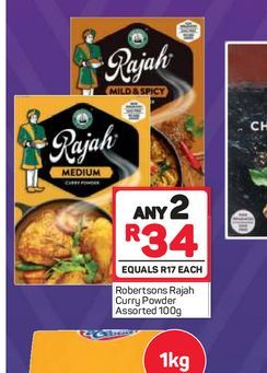 Rajah Curry Powder 2 offers at R 34