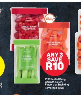PnP Vegetables offers at